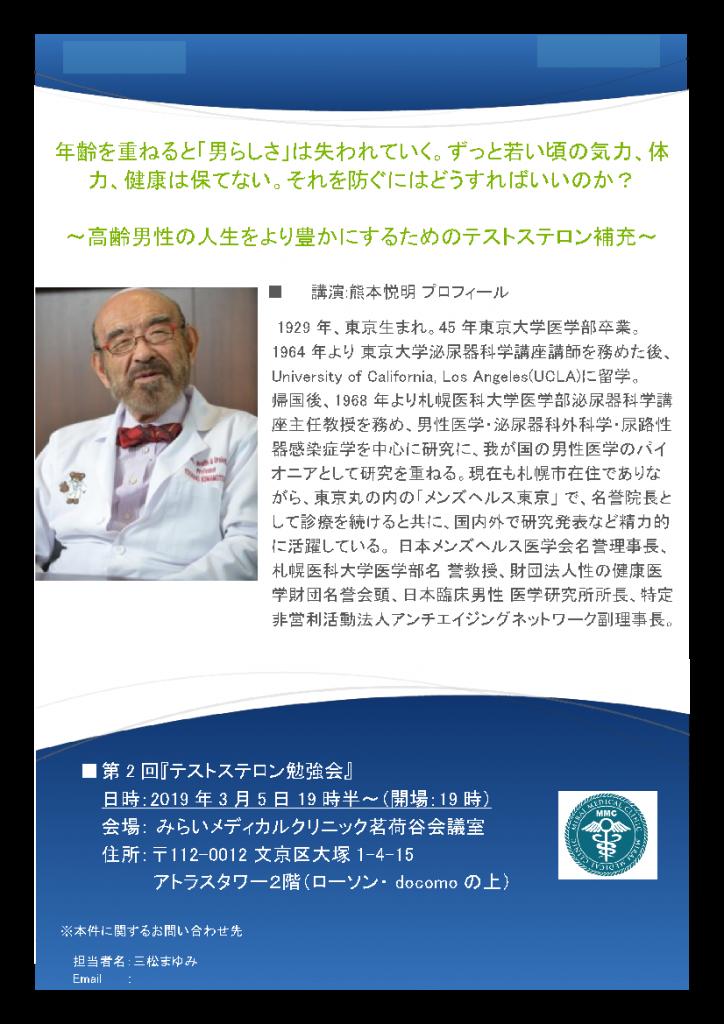 テストステロン勉強会開催20190305-2